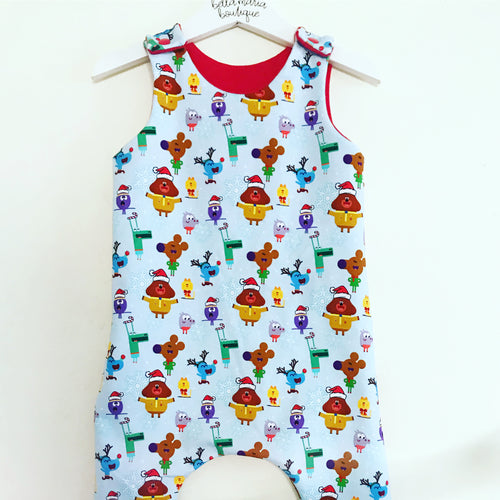 Hey Duggee Christmas Dungaree Romper