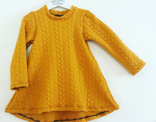 Cable Knit Swing Dress