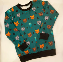 Geo Woodland Animals Jumper