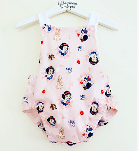Snow White Summer Romper