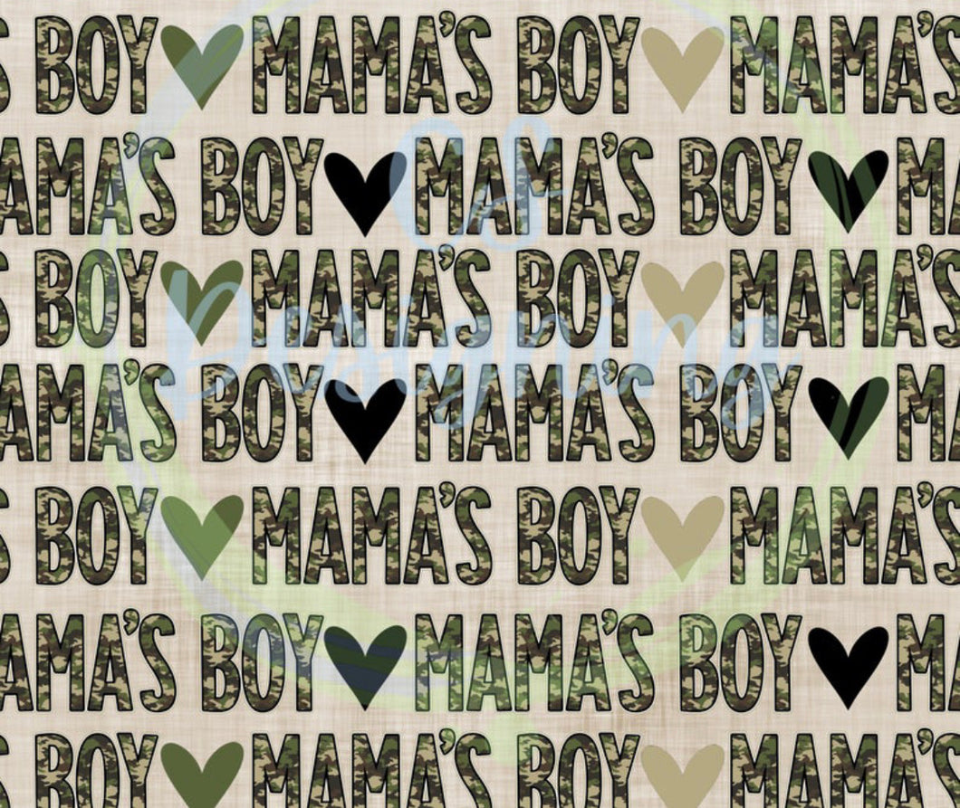 Mama'a Boy FABRIC T Shirt