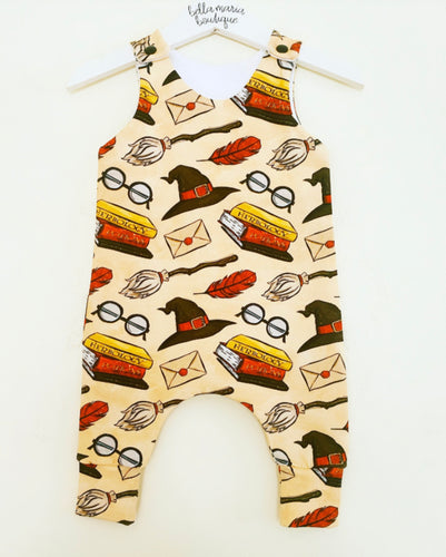 Harry Potter Cream Dungarees