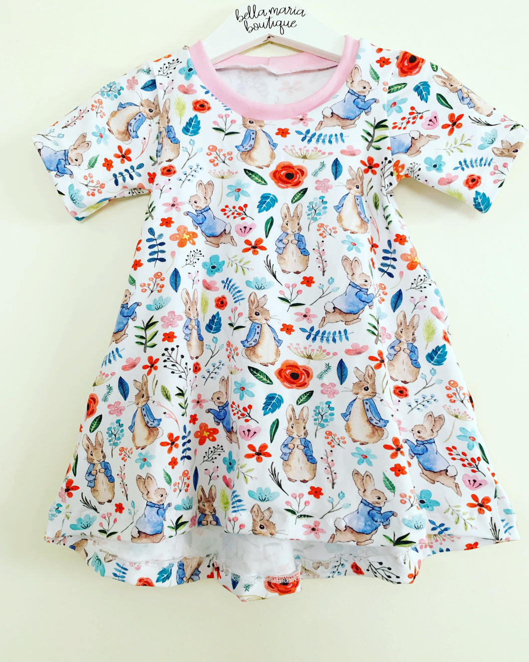 Floral Peter Rabbit Dress