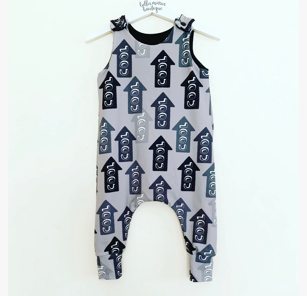 Mono COOL Dungaree Romper