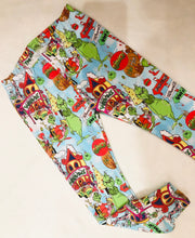 Christmas Slim Leggings