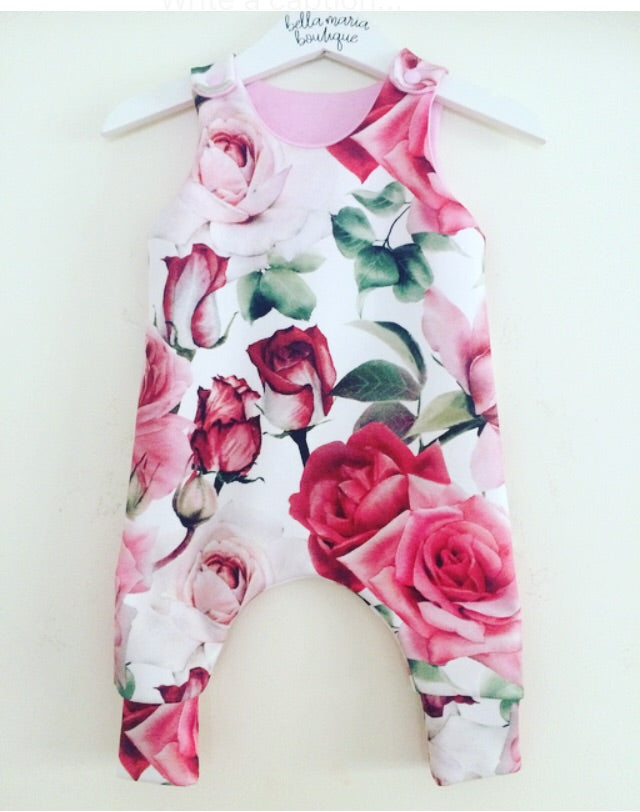 Rose World Romper