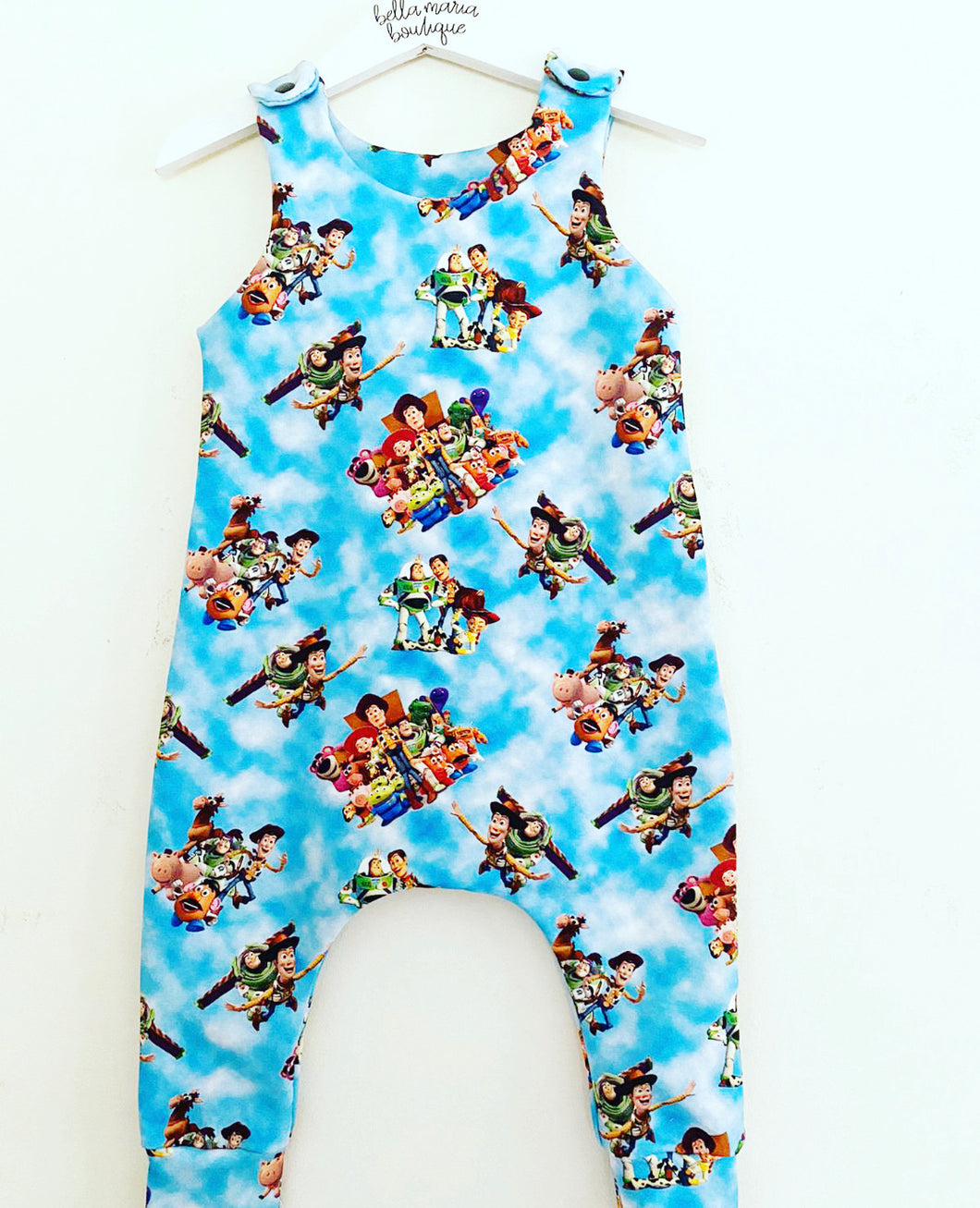 Toy Story Romper 12-18m 2-3yrs