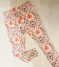 Ready Made Rose Leopard Leggings 3-4yrs