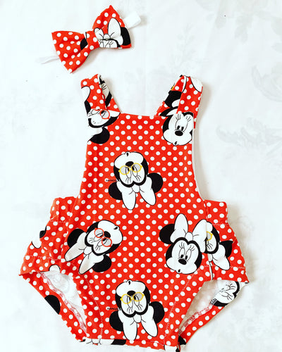 Minnie Mouse Summer Romper