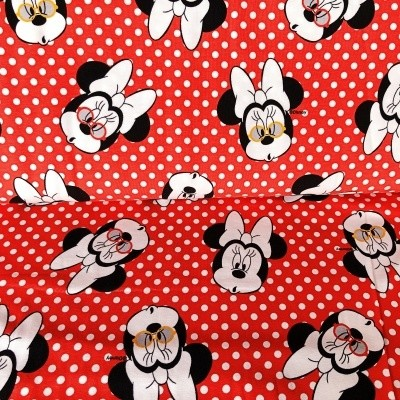 Disney Red Minnie Mouse Leggings