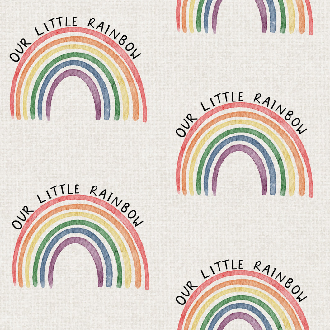 Our Little Rainbow Short Romper