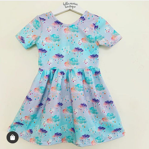 Rainbow Rainclouds Dress