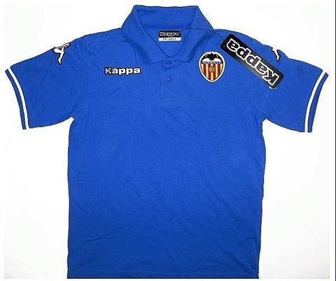 VALENCIA 2009-10 Classic Polo T-shirt (Small Youths) - Classicsoccerstore