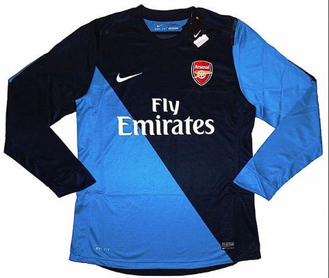 ARSENAL *EXTREMELY RARE* 2012-13 PLAYER ISSUE Prototype 4th L/S Jersey (Large) - Classicsoccerstore