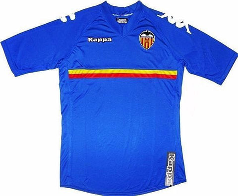 VALENCIA *RARE* 2010-11 PLAYER ISSUE European Third Jersey (Large) - Classicsoccerstore
