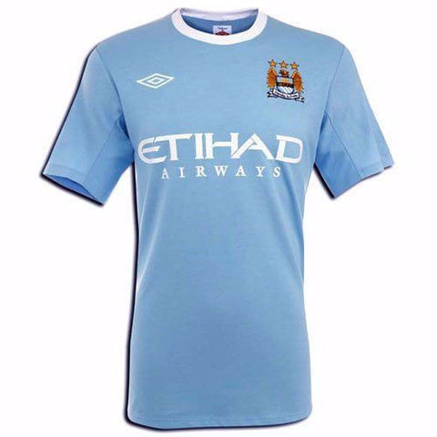 MANCHESTER CITY 2009-10 Home Jersey (XL) - Classicsoccerstore