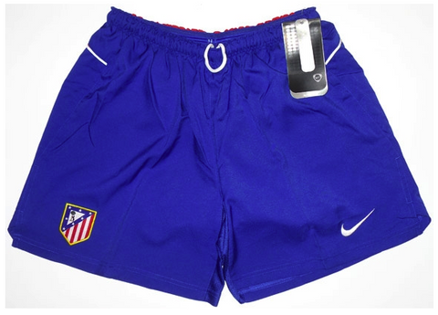 ATLETICO MADRID *RARE* 2004-2005 Home Shorts (XL Youths) - Classicsoccerstore