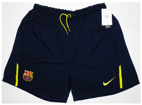 BARCELONA 2008 -2009 Away Shorts (XL Youths) - Classicsoccerstore