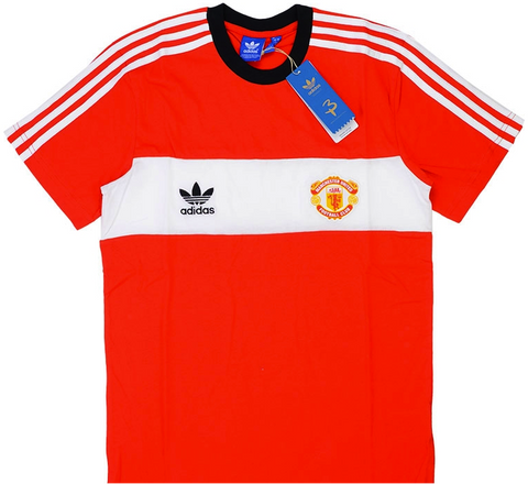 MANCHESTER UNITED Adidas Originals 1985 Tee (Small) - Classicsoccerstore
