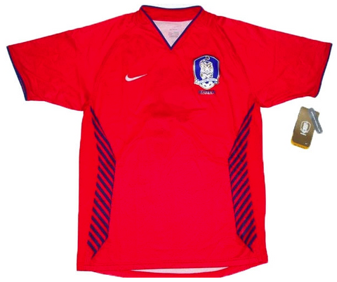 SOUTH KOREA 2006-07 Home Jersey (Large) - Classicsoccerstore