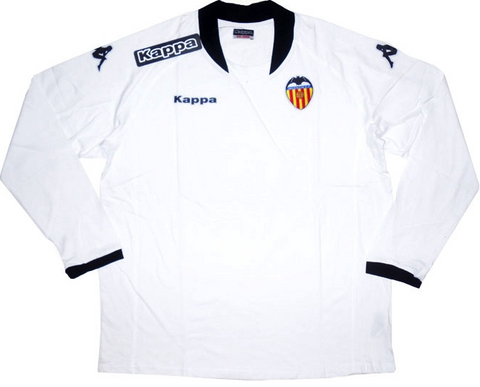 VALENCIA 2009-10 Long Sleeved Training Jersey (2XL) - Classicsoccerstore