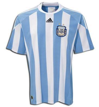 ARGENTINA 2010-11 Home Jersey (XL) - Classicsoccerstore