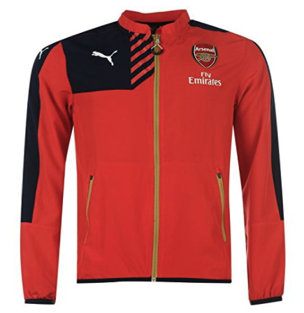 ARSENAL 2015-16 Puma Woven Jacket (XL Youths) - Classicsoccerstore