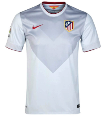 ATLETICO MADRID 2014-15 Away Jersey (Large) - Classicsoccerstore