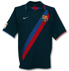 BARCELONA *VINTAGE* 2002-04 Away Jersey (Large Youths) - Classicsoccerstore