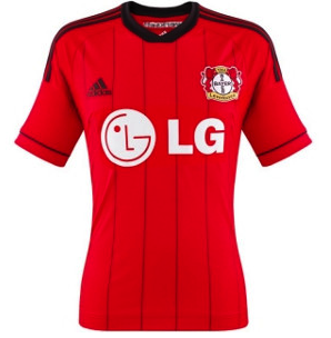 BAYER LEVERKUSEN 2013-14 Away Jersey (Large) - Classicsoccerstore