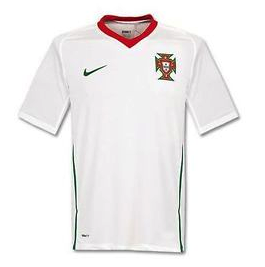 PORTUGAL 2008-10 Away Jersey (XL) - Classicsoccerstore