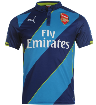 ARSENAL 2014-15 Third Jersey (Large) - Classicsoccerstore