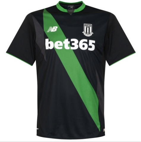 STOKE CITY 2015-16 Away Jersey (XL) - Classicsoccerstore