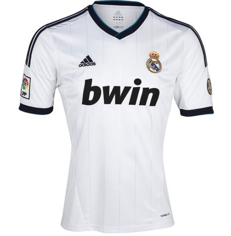 REAL MADRID *RARE* 2012-13 Champions League Home Jersey - Classicsoccerstore