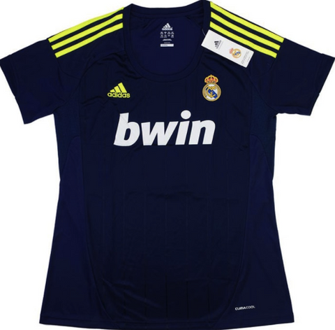 REAL MADRID 2012-13 Women's Away Jersey (XL) - Classicsoccerstore