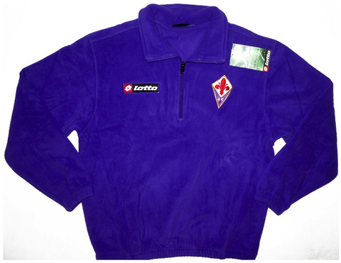 FIORENTINA 2010-11 Training Fleece Top (Large Youths) - Classicsoccerstore