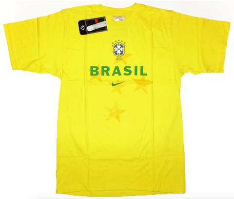 BRAZIL 2004-06 Training Tee (Small) - Classicsoccerstore