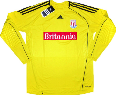 STOKE CITY 2010-11 Away Goalkeepers' Jersey (2XL) - Classicsoccerstore