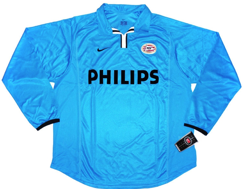 PSV *VERY RARE* 2001-02 PLAYER ISSUE L/S Away Jersey (XL)