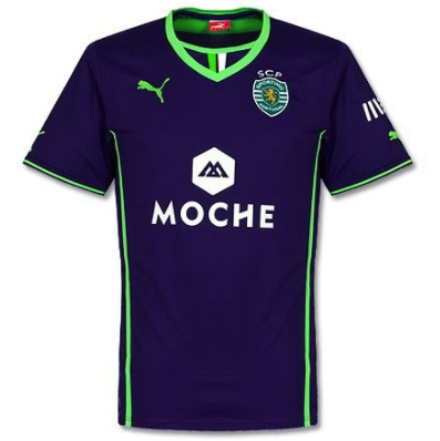 SPORTING LISBON 2013-14 Away Jersey (Large)