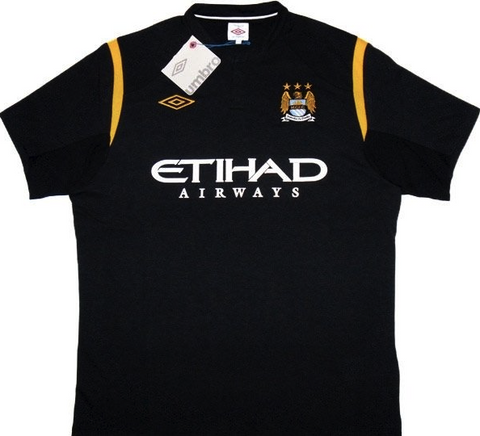 MANCHESTER CITY 2009-10 Away Jersey (Large) - Classicsoccerstore