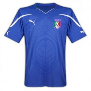 ITALY 2010-12 Home Jersey (XL Youths) - Classicsoccerstore