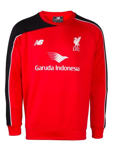 LIVERPOOL 2015-16 Training Sweat Top (Large Youths) - Classicsoccerstore