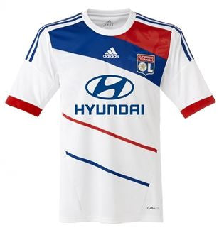 LYON 2012-13 Home Jersey (XL) - Classicsoccerstore