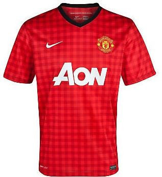 MANCHESTER UNITED 2012-13 Home Jersey (XL) - Classicsoccerstore