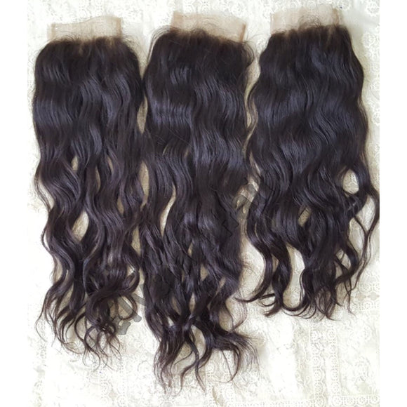 Indian Wavy Lace Closures - Elysian Hair Boutique