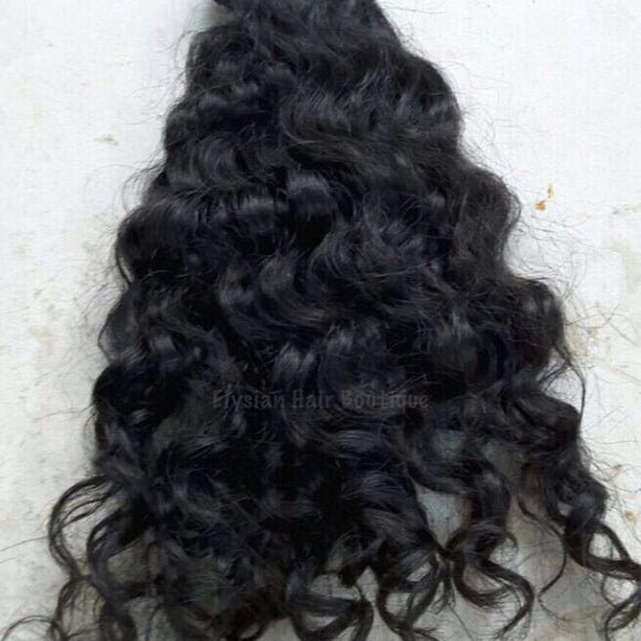 Indian Curly Per Bundle - Elysian Hair Boutique