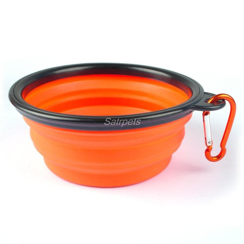 Collapsible Travel Dog Bowl