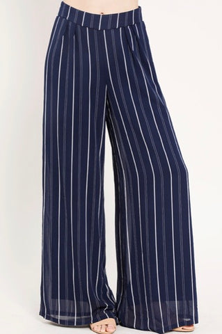 Luv High- Waisted Palazzo Pants