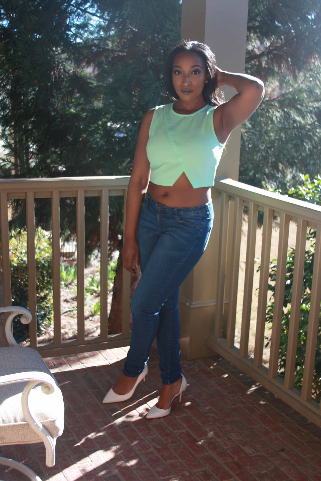 Crop Top Mint